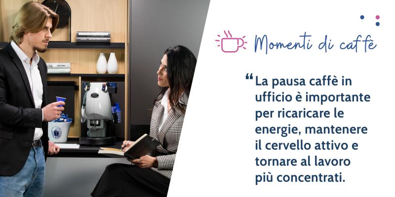 La pausa caffè in ufficio: 5 benefici che migliorano la produttività