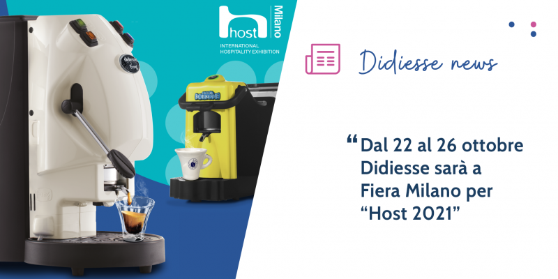 """Didiesse ad """"Host 2021"""" racconta i propri valori: tradizione, eco-sostenibilità e design"""